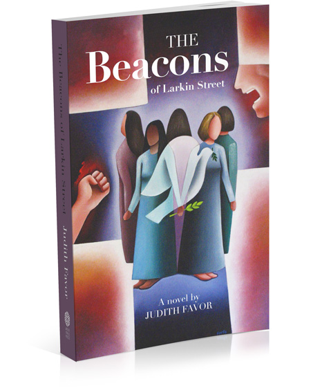 The Beacons novel by Judith Favor banner image link