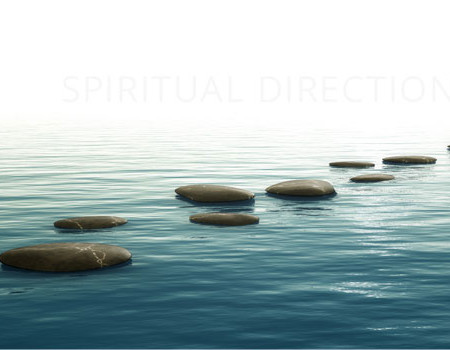Stepping Stones on Water image for Spiritual Direction with Judith Favor