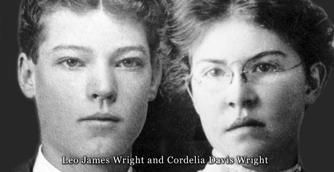 Leo & Cordelia Wright composite photo