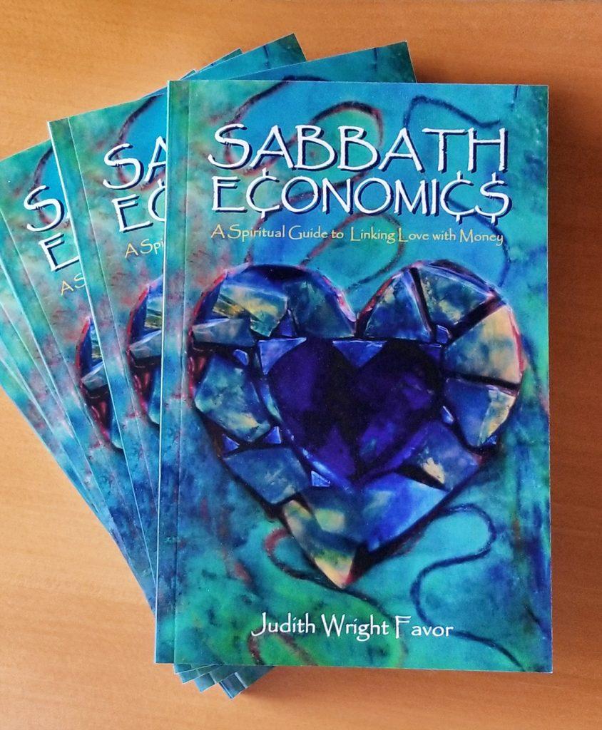 Sabbath Economics book stack